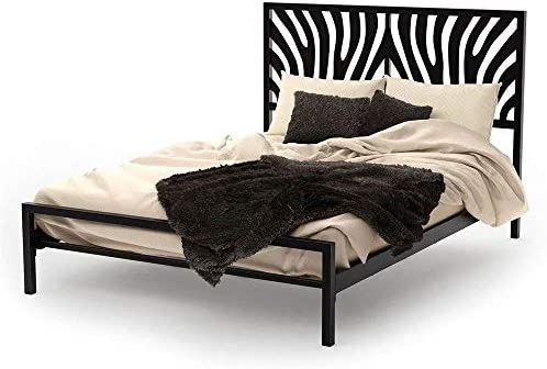 Amazon Com Amisco Zebra Metal Headboard Only Full Size 54