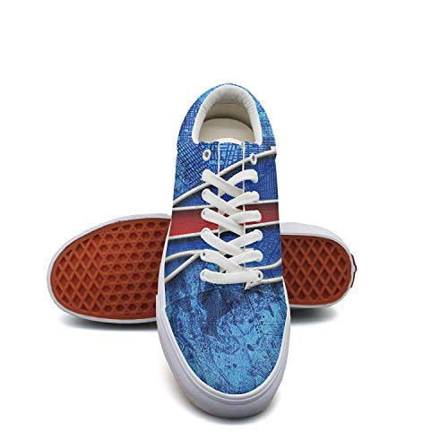 (RegiDreae Women's Skate Shoe Fashion Sneaker Classic Canvas Shoes Lace Up Shoe)