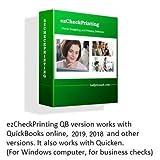 ezCheckPrinting for QuickBooks/Quicken Version