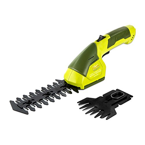 Sun Joe 7.2-Volt 4-6 Inch Cordless Grass/Hedge Trimmer in Green by Sun Joe