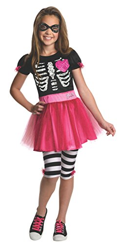 [Rubies Trick-or-Treat Barbie Costume, Toddler] (Witch Pretty Pink Toddler Costumes)