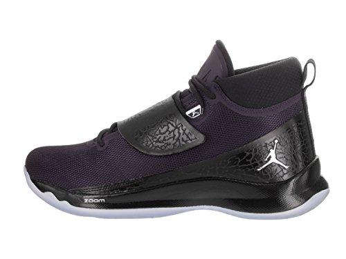 Mesh Jordan Uomo Sneakers Pelle Fly Alte Nero PO Super 5 q7ZrXw74