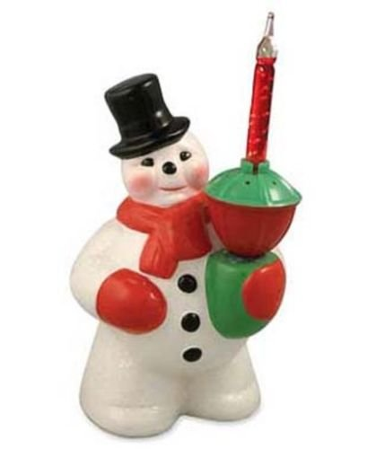 Bethany Lowe - Christmas - Bubble Light Snowman - LG9866
