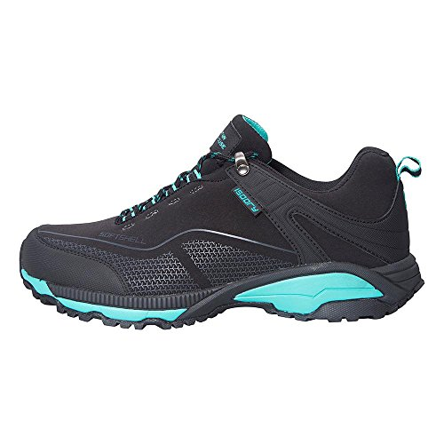 Mountain Warehouse Collie Womens Shoes -Waterproof Ladies All Season Shoes Black 7 M US Women by Mountain Warehouse