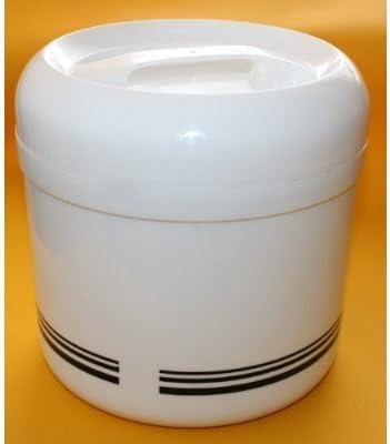 Eiswürfelbehälter 4,0 l - mit Zange und Abtropfgitter - 4 teiliges Sparset