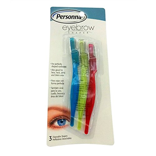 Personna Eyebrow Trimmer and Shaper for Men and Women, 1-Pack