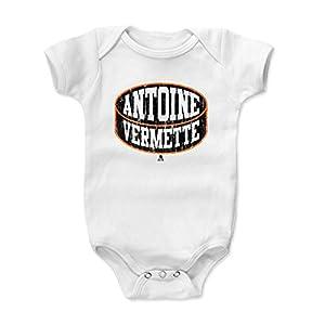 500 LEVEL's Antoine Vermette Baby Onesie - Anaheim Hockey Fan Gear - Antoine Vermette Anaheim Puck