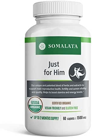 Just for Him - Increase Male Fertility Naturally - Boost Semen Count
