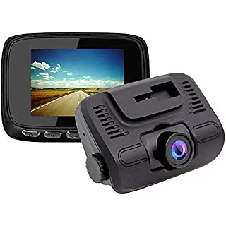 Sale Off E-ACE Dash Cam 2'' IPS Screen 1080P FHD Car Video Recorder 140 Degree Wide Angle Lens Discreet Design Dashboard Camera with G-Sensor Loop Recording Parking Monitor Motion Detection