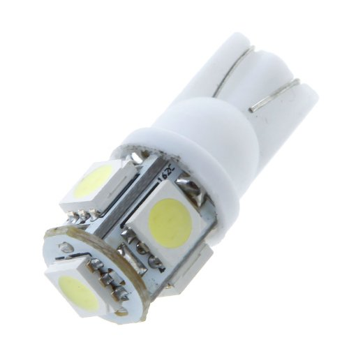 Kingzer 2x T10 W5W 5050 5 SMD LED Car Side Wedge Light Bulbs Lamp 192 168 2825 12V from KINGZER