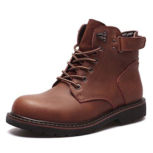 HL-PYL - Der neue Martin Stiefel hohe Stiefel für kurze Stiefel 44 Braun
