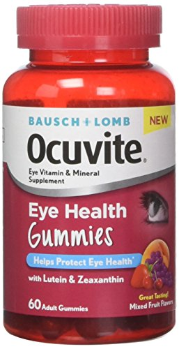 Bausch + Lomb Ocuvite Eye Health Gummies – 60 ct, Pack of 2 Review