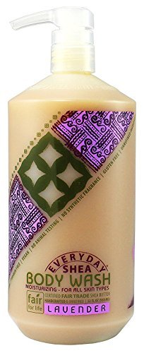 Alaffia Everyday Shea Moisturizing Bubble Bath Lavender -- 32 fl oz - 2pc (32 Ounce Moisturizing Bath)