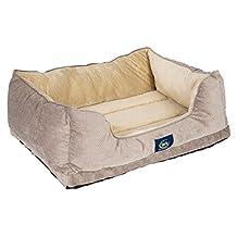 Serta Cuddler Dog Bed, Grey