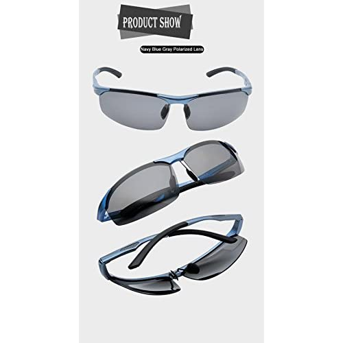 ac3ee6df27 80%OFF Duco Men s Sports Style Polarized Sunglasses Carbon Fiber  Unbreakable Frame X6