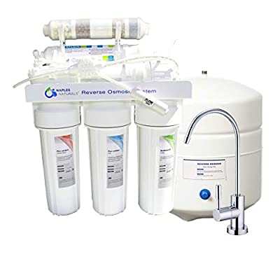 Naples Naturals RO66 Reverse Osmosis Water Filter System (Alkaline 6-Stage)