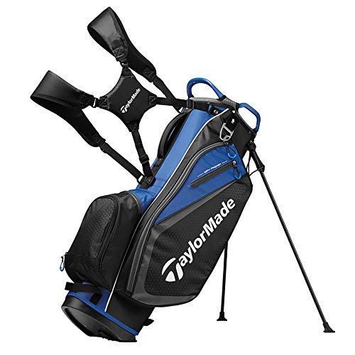 TaylorMade 2019 Golf Select Stand Bag, Black/Blue by TaylorMade