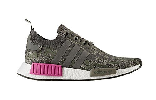 adidas NMD_R1 PK Green Grey Mens Unisex Running Trainers BZ0222 UK 3.5 4VcSAkuH