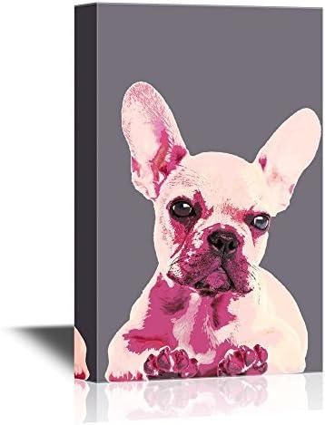 Artistic Art Illustration on Dark Purple Background