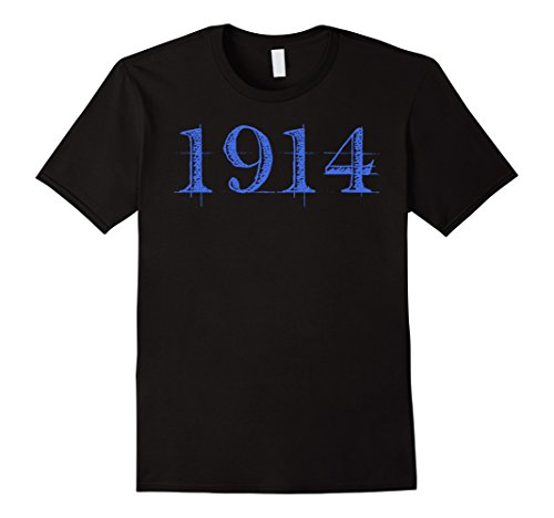 T-shirt Black Beta (Mens Phi Beta Blue Sigma White 1914 Men's T-Shirt XL Black)