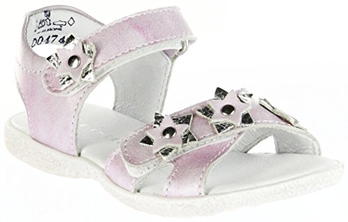Richter Kinder Sandaletten Pink Metallicleder Mädchen-Schuhe 5004-734-3501 Sissi Pink
