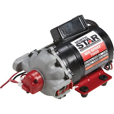 NorthStar NSQ Series 12V On-Demand Diaphragm Pump - 7 GPM, Turns Off @ 60 PSI