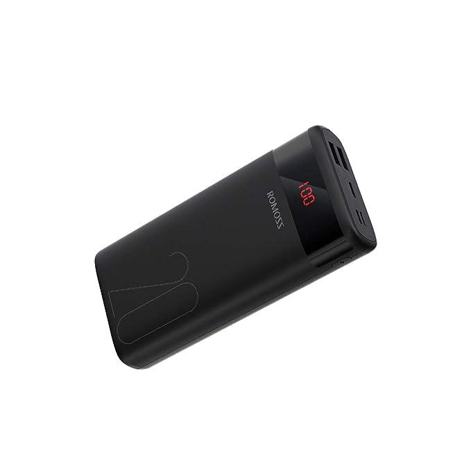 ROMOSS Mini Cargador portátil batería Externa Packs con ...