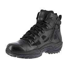 Reebok Work Men's Rapid Response RB8678 Safety Boot,Black,11 W US
