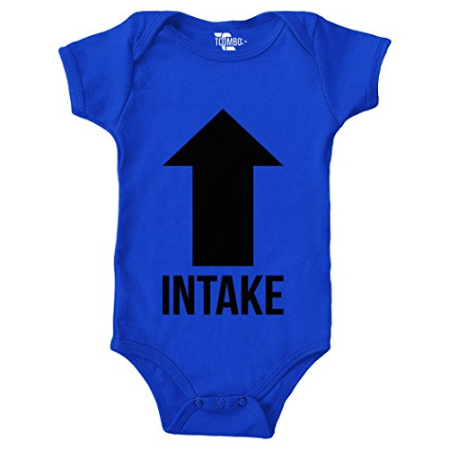 - Tcombo Intake Exhaust Bodysuit (Royal Blue, 6 Months)