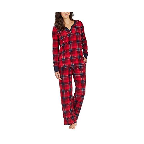 Nautica Women's 2 Piece Fleece Pajama Sleepwear Set