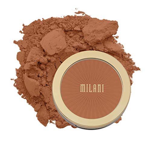 Milani Silky Matte Bronzing Powder – Sun Drenched (0.34 Ounce) Vegan, Cruelty-Free Bronzer – Shape & Contour Face with a…