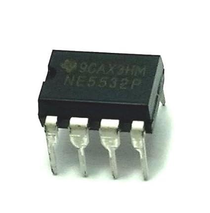 DIP8 NE5532P By TEXAS INSTRUMENTS 5532 OP AMP DUAL LOW NOISE