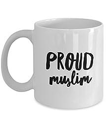 Muslims Coffee Mug - Proud Muslim - Unique Gifts Idea - 11 Oz Ceramic Mug