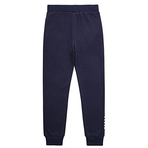 UNACOO Casual Kid Boys Sports Jogger Active Pants (Navy, s(6-7T)) by UNACOO (Image #1)