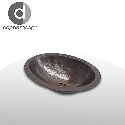 Oval Bath Sink (The Copper Design Copper Oval bath sink 15