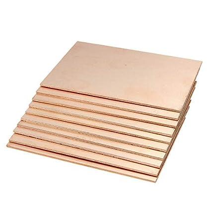 Gimax 1Pcs One Side Copper Clad 70x100x1 5mm Single PCB