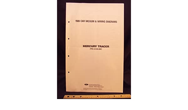 1989 mercury tracer electrical wiring diagrams schematics ford  1989 mercury tracer wiring diagram #5
