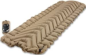 Klymit Static V Lightweight Sleeping Pad, Coyote-Sand