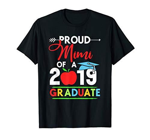 Proud Mimi Of A 2019 Graduate T-shirt]()