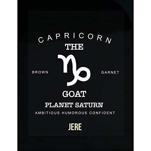 Namska Jere I Am Confident Capricon The Goat - Man - Sticker