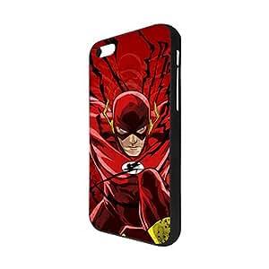 The Flash Cartoon Series- Iphone 5C Funda Case for Girl- Drop Resistant Iphone 5C Funda Case- Fashion Cover