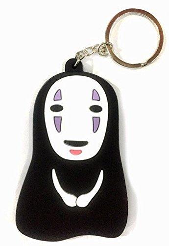 Japanese-Anime-Spirited-Away-No-FaceFaceless-Kaonashi-PVC-Keychain