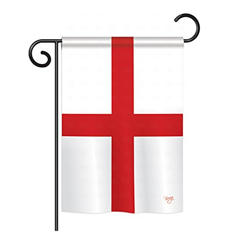 - Breeze Decor G158168 England (St. George's Cross) Flags of The World Nationality Impressions Decorative Vertical Garden Flag 13