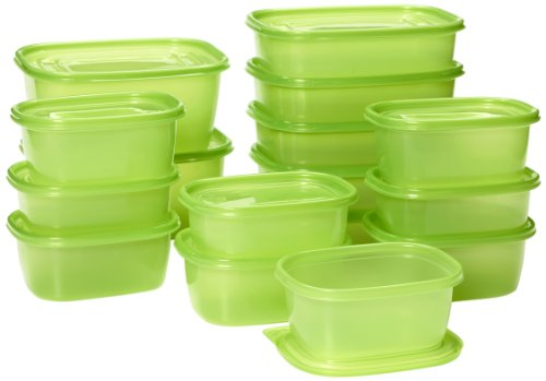 Debbie Meyer Ultralite Green Boxes 16 Piece Set, 1 ea