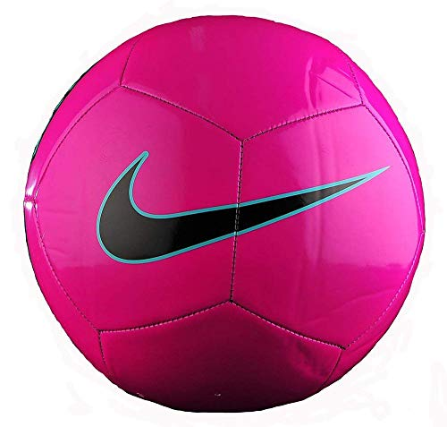 Nike Pitch Training Soccer Ball Fusion Pink/Green/Black Size Size Four Ball (Pink Soccer Ball)