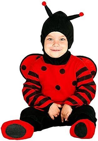Guirca - Disfraz de mariquita, talla 6-12 meses, color rojo (85973 ...
