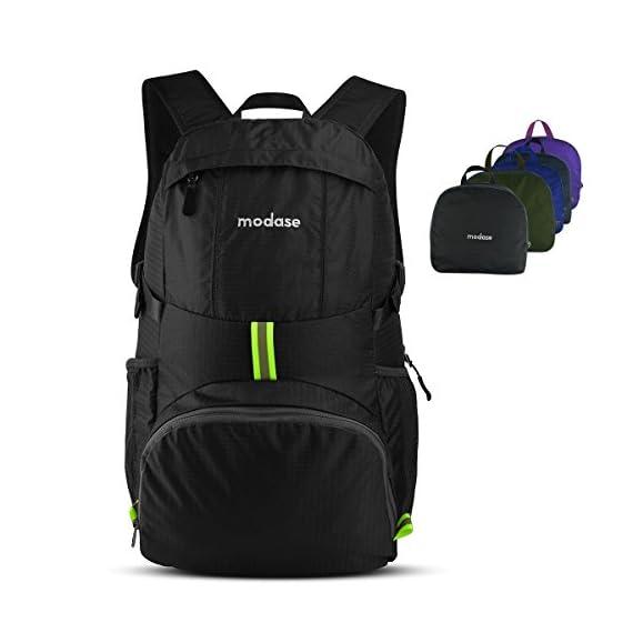8de1abe59c7c modase Large 35L Travel Backpack Durable Travel Hiking Backpack Daypack -  Water Resistant Lightweight Packable Backpack