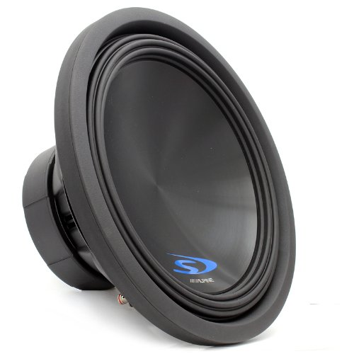 "SWS-15D4 - Alpine 15"" Dual 4-Ohm 500W RMS Type-S Car Subwoofer"