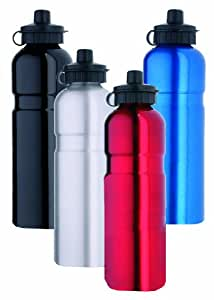 Point Aluminium - Botella de agua, 750 ml