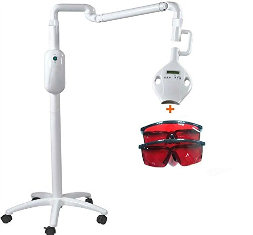 APHRODITE Mobile Teeth Whitening Machine Tooth Bleaching System +2PCS Protective Goggles